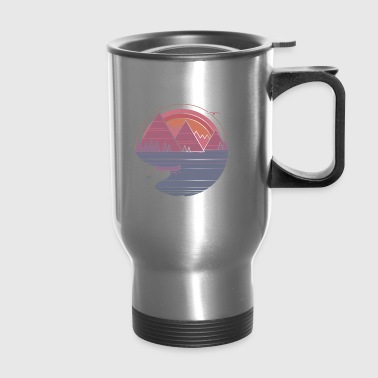 The Mountains Are Calling - Travel Mug