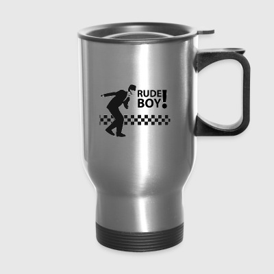 rudeboy ska - Travel Mug