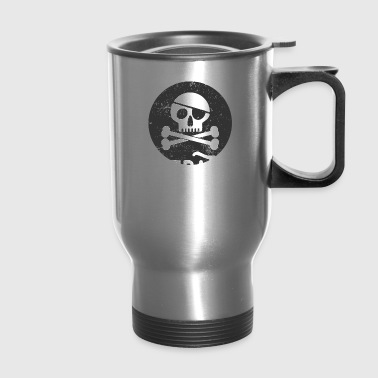Pirate Skull PiRate Teacher - Travel Mug