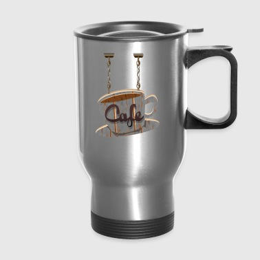 cafe - Travel Mug
