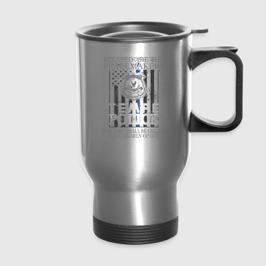 Tempe Police Support Saint Michael Police Officer Prayer - Travel Mug
