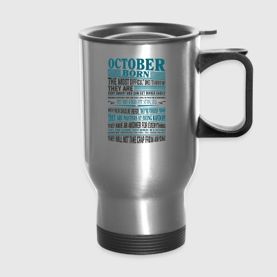 Best selling born in October present - Travel Mug