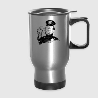 Angry Authority Comic Characters Cop 2030006 - Travel Mug