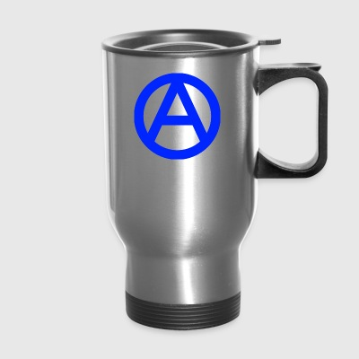 1200px Anarchy symbol svg - Travel Mug