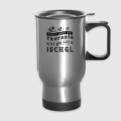 GIFT - OTHER GO TO THERAPY BLACK - Travel Mug