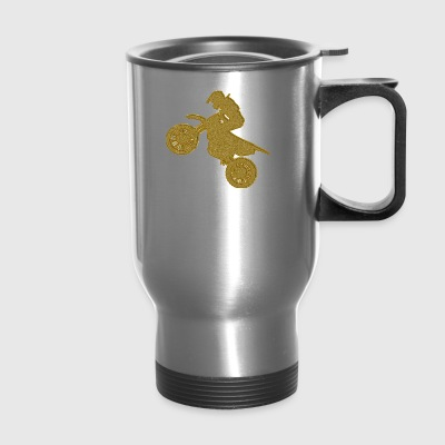Golden Motocross - Travel Mug
