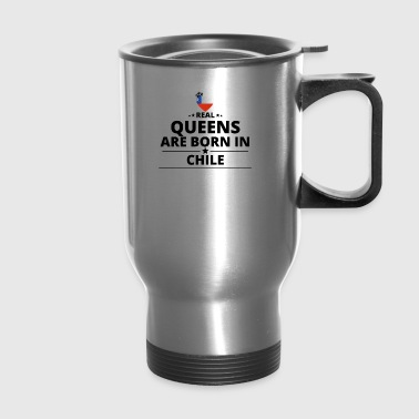 GESCHENK QUEENS LOVE FROM CHILE - Travel Mug