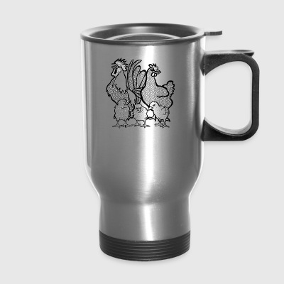 chicken gang - Travel Mug