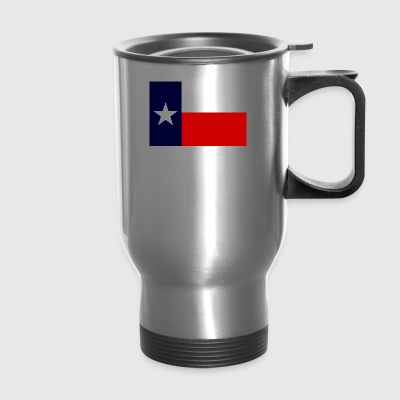 TEXAS FLAG NATIVE WHITE - Travel Mug