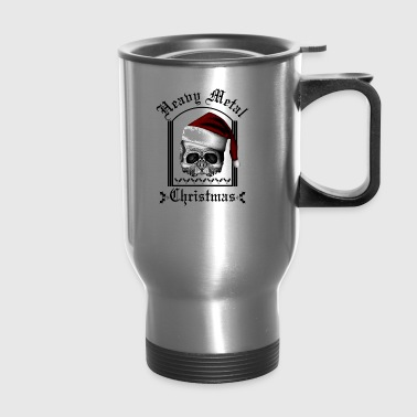 Heavy metal Christmas - Travel Mug
