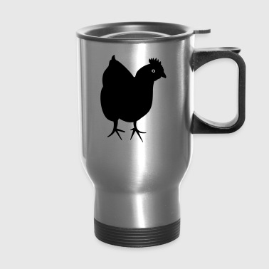 Chicken - Hen - Travel Mug