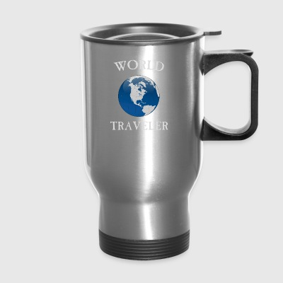 world traveler - Travel Mug
