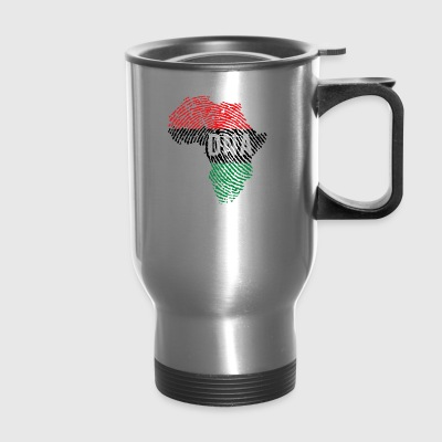 DNA AFRO MAP - Travel Mug