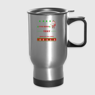 Dear Santa I've Been A Very Good Father In Law - Travel Mug