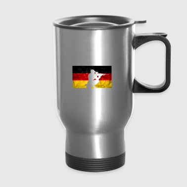 This is How Germans Take a Knee white - Travel Mug