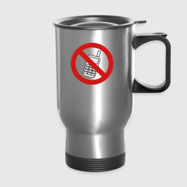 No Phone - Travel Mug