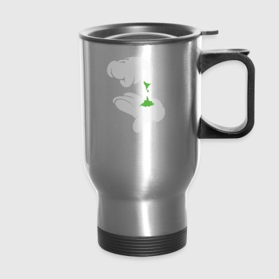 Weed 420 stoned - Travel Mug