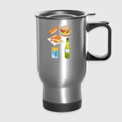 french fries pommes frites fastfood fast food8 - Travel Mug