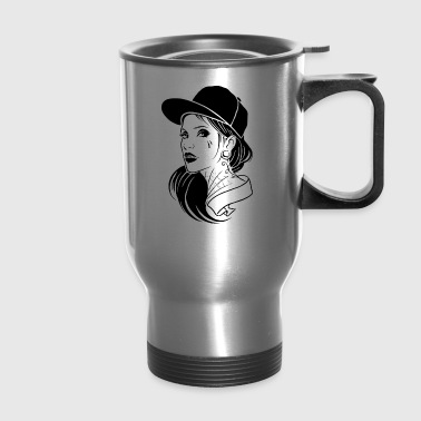 woman - Travel Mug
