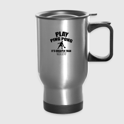 ping pong design - Travel Mug