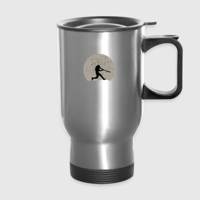 Baseball Full Moon - Travel Mug
