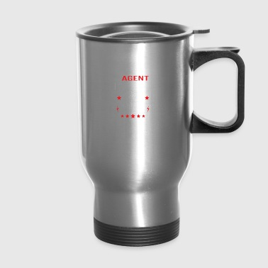 Travel Agent Fueled By Coffee - Travel Mug