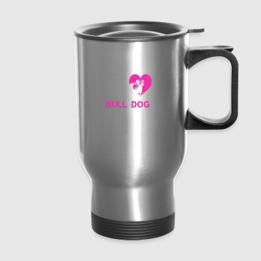 bulldog female - Travel Mug