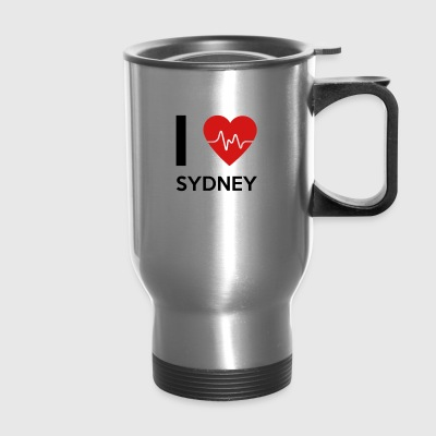 I Love Sydney - Travel Mug