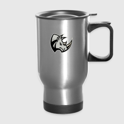 gray_rhinoceros - Travel Mug