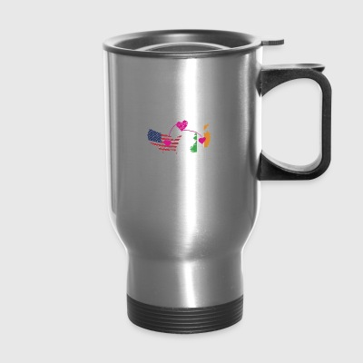 The Love Between Father And Daughter - Travel Mug