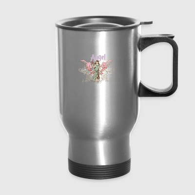 vintage angel - Travel Mug