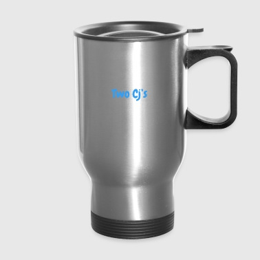 Two Cj's no logo - Travel Mug