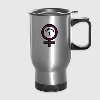 thing 1 female - Travel Mug