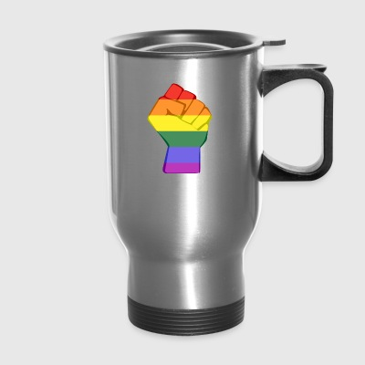 LGBT FIST - Travel Mug