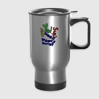 Moomaw_Text_Outlined - Travel Mug