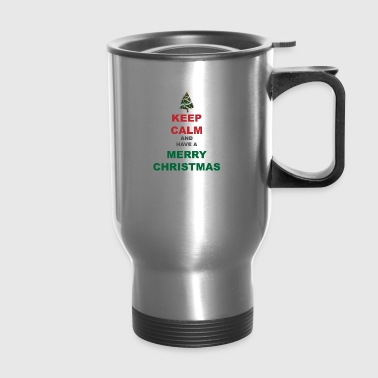 Merry Christmas - Travel Mug