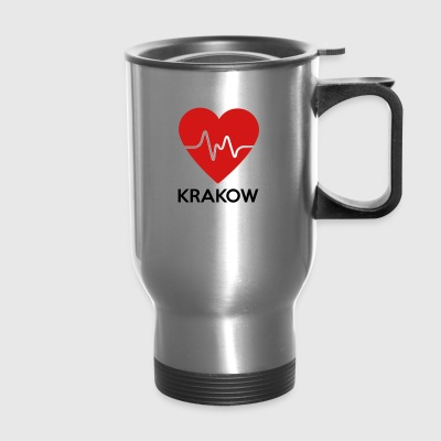 Heart Krakow - Travel Mug