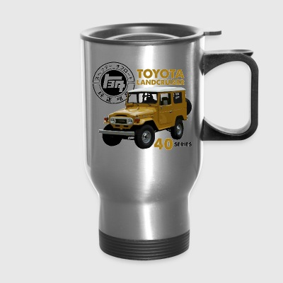 MUSTARD FJ40 WITH RETRO LOGO - Travel Mug