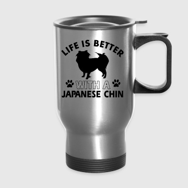 Japanese chin dog breed - Travel Mug