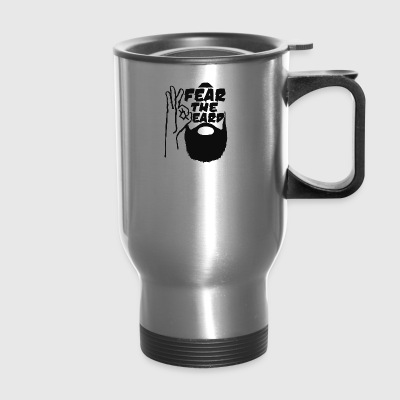 Fear The Beard - Travel Mug
