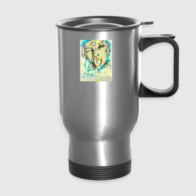 lisa pisa - Travel Mug