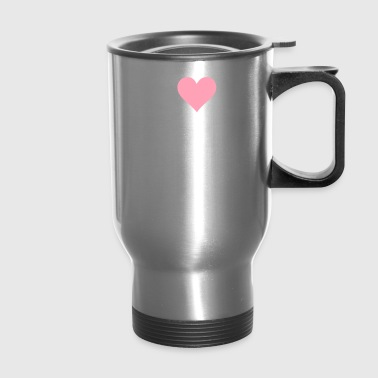 I Love Hamburg - Travel Mug
