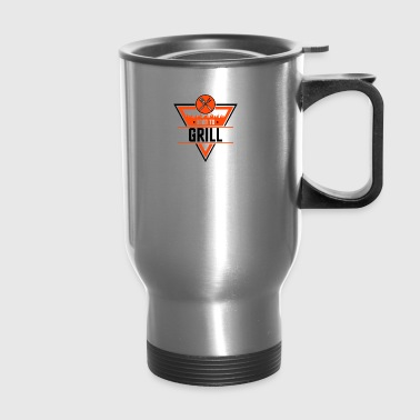Born to grill - Travel Mug