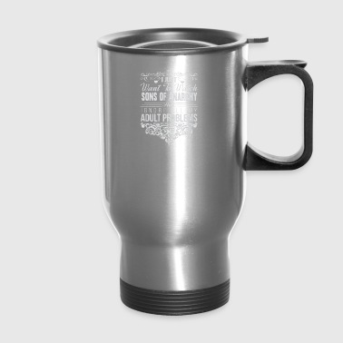 Sons of anarchy fan Ignore all my adult problems - Travel Mug