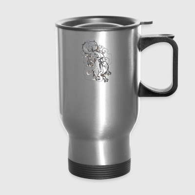 lion - Travel Mug