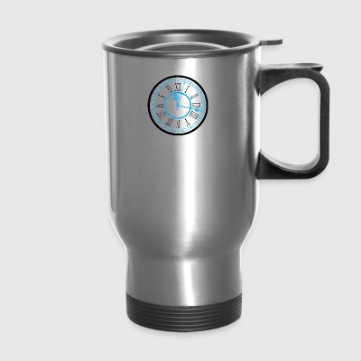Classic Clock - Travel Mug