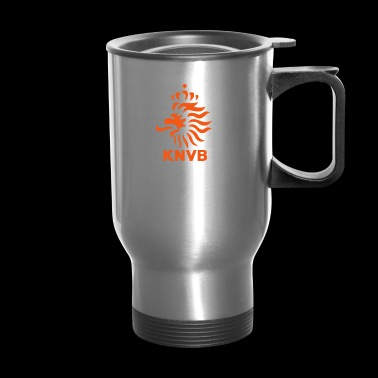 Netherlands Holland Oranje Total Dutch Soccer Logo - Travel Mug
