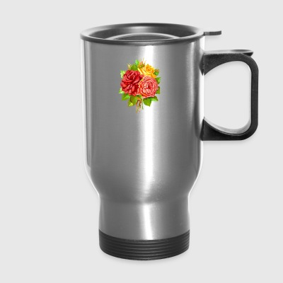 Bouquet of Flowers - Travel Mug