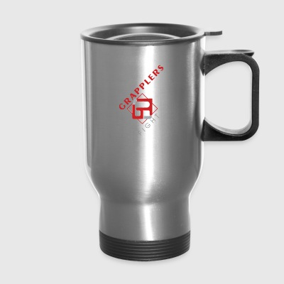 Dynamic 001 grapplersfight LOGO Front - Travel Mug