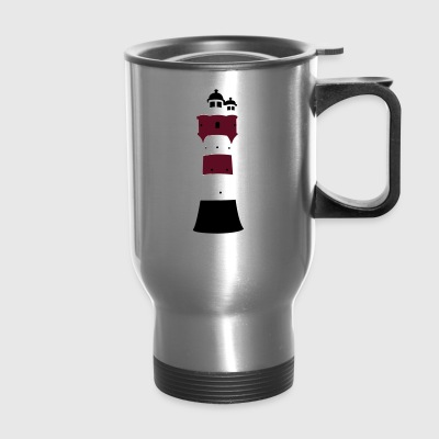 Lighthouse Roter Sand - Travel Mug